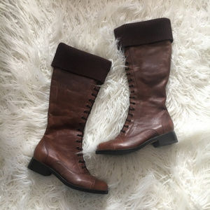 New Cole Haan Sz 8 'Whitley' Distressed Knee High